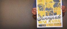 work « The Portfolio of Daniel Evan Garza #festival #print #design #graphic #poster