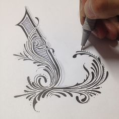 Handlettering and calligraphy on Behance #lettering