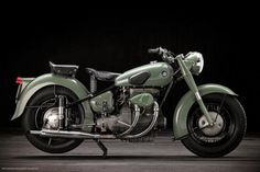 Sunbeam S7/S8, 1954 #sunbeam #classic #design #motorcycle #timeless