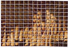 Polaroid Mosaics by Maurizio Galimberti | PICDIT
