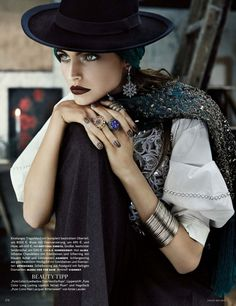 EKarlina Caune by Giampaolo Sgura #fashion #photography #inspiration