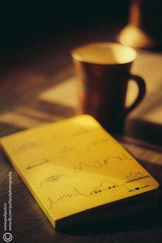 Photograph Letternote by Jishnu Vediyoor on 500px #letternote #photography #morning #coffee #notebook