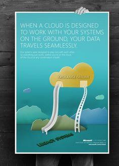Mario Cubillos | Creative #poster #made #papercut #paper #pastel