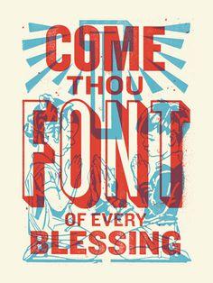 Come Thou Font