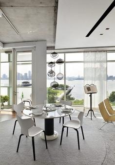 Hudson River Pier Residence by SheltonMindel 8