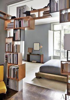 Stefano Pilati's Paris Duplex by Architectural Digest | AD DesignFile - Home Decorating Photos | Architectural Digest