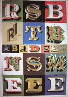 All sizes | Untitled | Flickr - Photo Sharing! #lettering #retro #vintage #letters