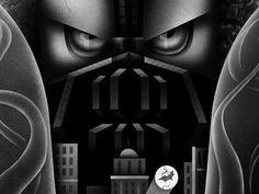 Dribbble - The Fire Rises by Natalie Smith #bane #batman