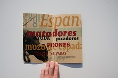 Booklet Designs - Type Specimine Booklet