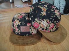 Image of Royal 5 Panel Cap #clothing #apparel #floral #hat #fashion #flowers