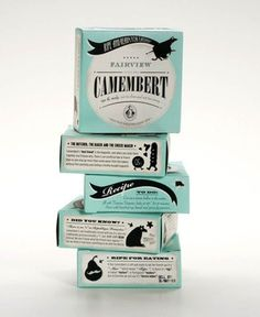 Inspirations / color palette on packaging #vintage #branding