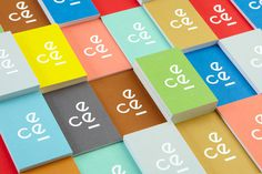 There is always another way. Blok Design. #business #card #print #colorful #stationery