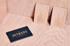 The Heyward Identity - Mindsparkle Mag SDCO Partners designer the Heyward—apartment homes with an urban-light, organic, modern feel, in a garden-green setting. #packaging #identity #branding #design #color #photography #graphic #design #gallery #blog #project #mindsparkle #mag #beautiful #portfolio #designer