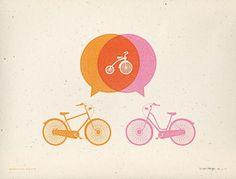 Allan Peters #birth #print #screen #bike #announcement