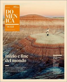 Domenica Space - Coverjunkie.com #cover #print #domenica #magazine