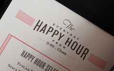 Graphic-ExchanGE - a selection of graphic projects #happy #text #red #hour #bar