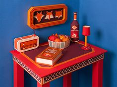 Zim & Zou Create A Fox's Den From Leather and Paper for Hermès