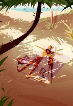 Illustrations by Pascal Campion | 123 Inspiration #illustrations #campion #pascal