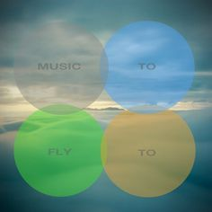 Music To Fly To « These Old Colors™ #music #design #shapes