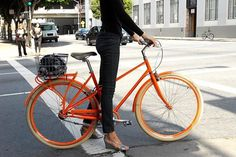 Public | Apartment Therapy Marketplace #woman #bike