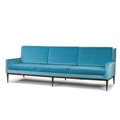 Design(Large sofa by Paul McCobb, via just good design) #design