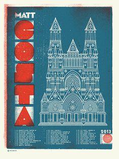 GigPosters.com Matt Costa #poster