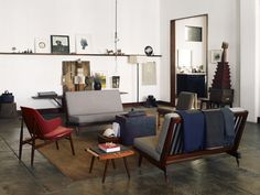 Interior #interior #loft #chairs #living #lounge #room