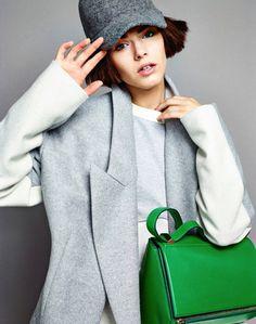 Anja Cihoric by Matias Indjic for Madame Figaro #fashion #model #photography #girl