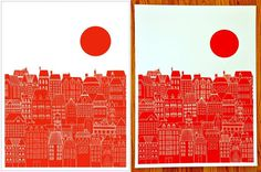single color screen printing - Google Search #screen print