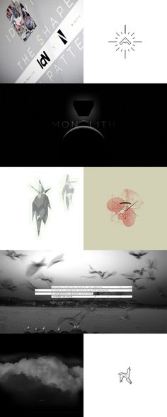 Work in Progress / Niketo.com #quote #unkle #birds #odyssey #minimal #poster #logo