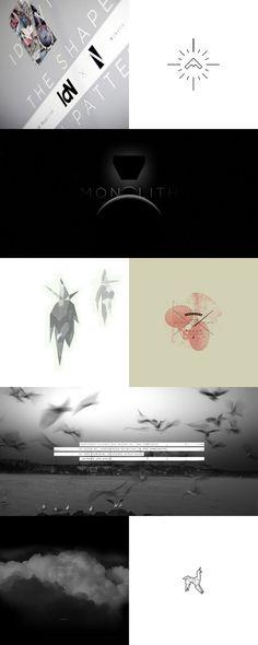 Work in Progress / Niketo.com #quote #unkle #birds #odyssey #minimal #poster #logo