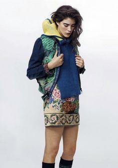 """""""Punto di fusione""""IO Donna, 17 November 2012Carla Ciffoni by Dirk Seiden Schwan#fashion #clothes"""