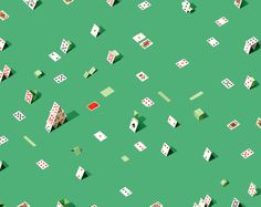 Photography by Andrew B. Myers #pattern #cards #playing
