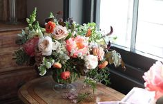 Flowers for Alex Mc Arthur's home #interiors #flowers