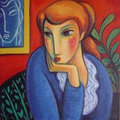 Женские фигуры и лица. Guillermo Marti Ceballos