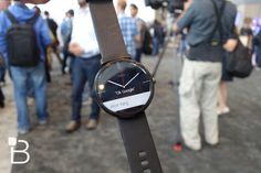 Moto 360 By Motorola #tech #flow #gadget #gift #ideas #cool