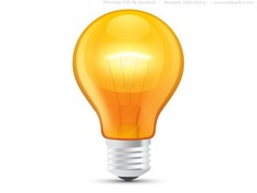 Glossy orange light bulb (psd) Free Psd. See more inspiration related to Light, Icons, Orange, Web, Light bulb, Bulb, Psd, Web icons, Shiny, Glossy, Horizontal and Isolated on Freepik.
