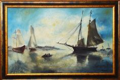 9 Amazing Landscape Oil Paintings by Mariva #oilpainting #landscaoe #landscape #sea #painting #paintings #oil