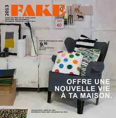 benedetto bufalino makes fake IKEA catalog out of cardboard #ikea