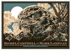 marklanspot.jpg 1.500×1.078 pixels #design #illustration #eagle #poster #typography