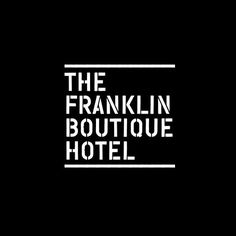Logo designed by Band for The Franklin Boutique Hotel. #bb