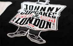 Johnny Cupcakes London Exclusive T-shirt | The Daily Street #print #tee #typography