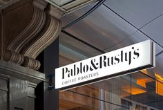 Pablo & Rusty's by Manual #sign