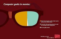 Hilarious Movie Clichés - My Modern Metropolis #infographic #illustration