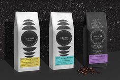 Eclipse Coffee Packaging and Branding by Javier Garcia on Behance. Adobe Live