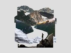 Mountain Range Collage