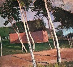 Paula Modersohn-Becker, Worpsweder Landschaft (1903)