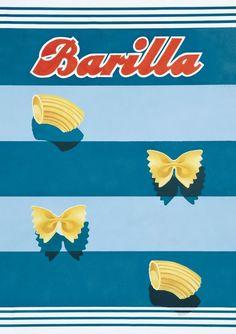 Free Flavour » Barilla Vintage Advert