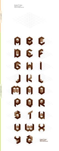 Cubic #type #font #typography