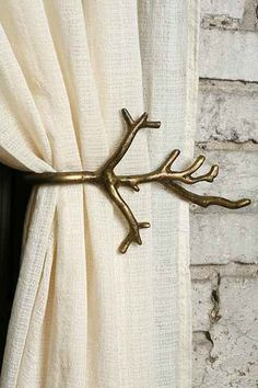 Branch Curtain Tie-Back, Urban Outfitters